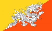 Bhutan-Flag-National-Flag-of-Bhutan-